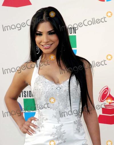 Alejandra Espinoza Photo - the 8th Annual Latin Grammy Awards Green Carpet Mandalay Bay Las Vegas Nevada 11-08-2007 Photo by Ed Geller-Globe Photosinc Alejandra Espinoza
