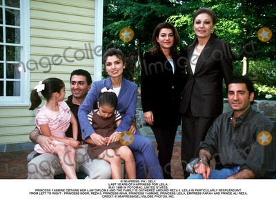 Prince Ali Photo - IMAPRESS PH  GELYLAST YEARS OF HAPPINESS FOR LEILAMAY 1998 IN POTOMAC UNITED STATESPRINCESS YASMINE OBTAINS HER LAW DIPLOMA AND THE FAMILY IS GATHERED AROUND REZA II LEILA IS PARTICULARLY RESPLENDANTFROM LEFT TO RIGHT  PRINCESS NOOR REZA II PRINCESS IMAN PRINCESS YASMINE PRINCESS LEILA EMPRESS FARAH AND PRINCE ALI REZACREDIT  IMAPRESSGELYGLOBE PHOTOS INC