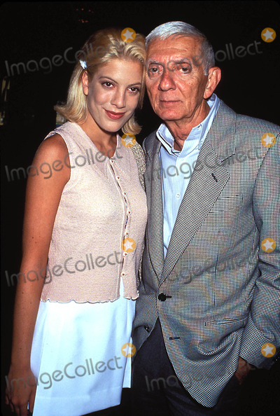 Aaron Spelling Photo - Aaron Spelling and Daughter Tori L8915lr 1994 Photo by Lisa Rose-Globe Photos
