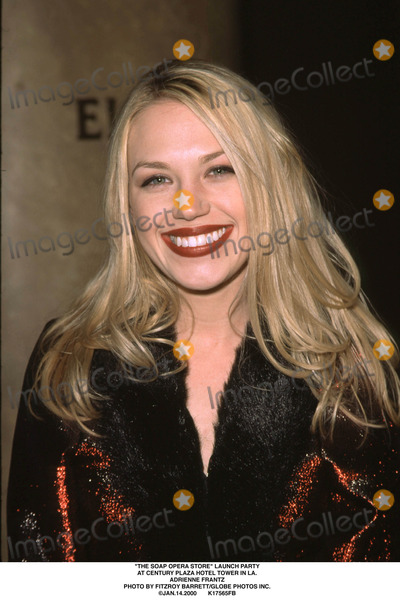 Adrienne Frantz Photo - The Soap Opera Store Launch Party at Century Plaza Hotel Tower in LA Adrienne Frantz Photo by Fitzroy BarrettGlobe Photos Inc Jan142000