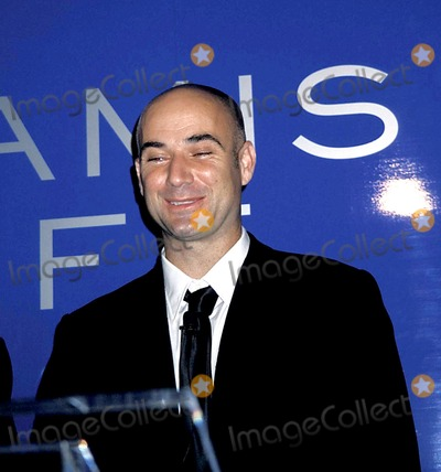 Aramis Photo - Tennis Superstar Andre Agassi Launches New Mens Fragrance-aramis Life at Christies in New York City 7162003 Photo Byrose HartmanGlobe Photos Inc