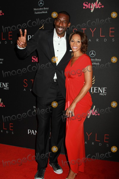 Alexis Welch Photo - The 9th Annual Style Awards at Mercedes Benz Fashion Week the Stage Lincoln Cenetr NYC September 5 2012 Photos by Sonia Moskowitz Globe Photos Inc 2012 Amare Stoudemire and Fiance Alexis Welch