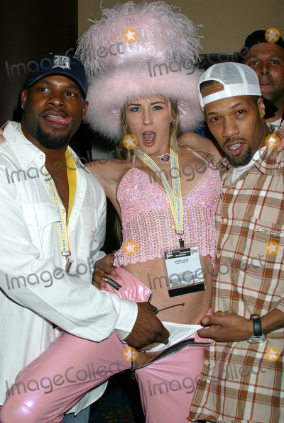 Mr Marcus Photo - Avn Adult Entertainment Expo Sands Convention Center Las Vegas Nevada 011004 Photo by Clinton HwallaceipolGlobe Photo Inc 2004 Mr Marcus and Redman with Pornstar Ciera Sage