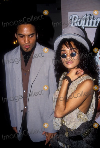 Lenny Kravitz Photo - Lenny Kravitz with Lisa Bonet 1988 Photo by Adam Scull-Globe Photos Inc