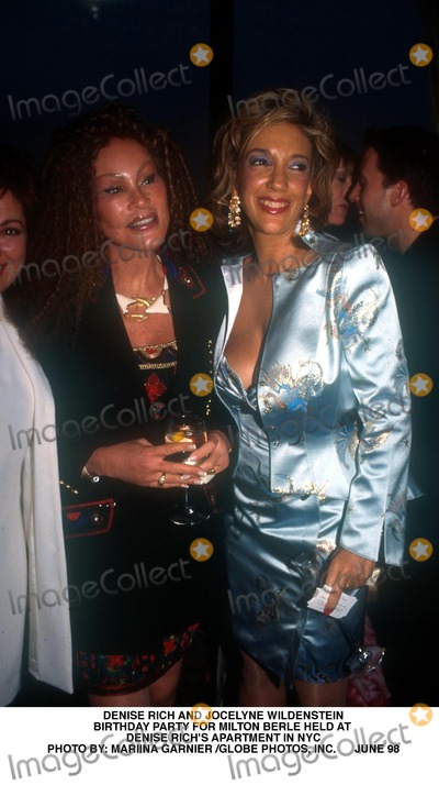 Milton Berle Photo - Denise Rich and Jocelyne Wildenstein Birthday Party For Milton Berle Held at Denise Richs Apartment in NYC Photo by Mariina Garnier Globe Photos Inc June