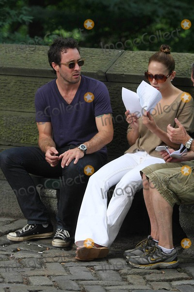 Alex OLoughlin Photo - Jennifer Lopez and Alex Oloughlin on the Set Ofthe Back Up Plain on 5 Ave and Central Park  New York City 07-22-2009 Photos by John Barrett-Globe Photos Inc