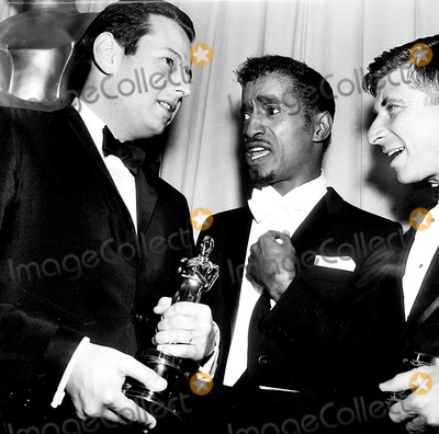 Andre Previn Photo - Academy Awards  Oscars (36th) Andre Previn Sammy Davis Jr and Elmer Bernstein 1964 d753-21 Globe Photos Inc