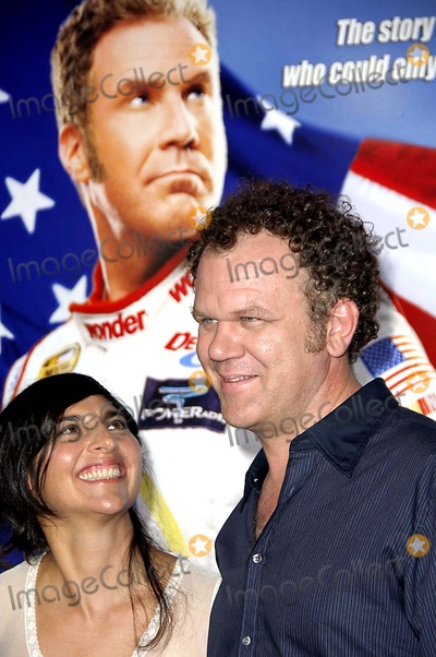 Alison Dickey Photo - Talladega Nights the Ballad of Ricky Bobby Premiere at the Graumans Chinese Theater Hollywood California 07-26-2006 Photo Michael Germana  Globe Photos Inc 2006 John C Reilly and Alison Dickey