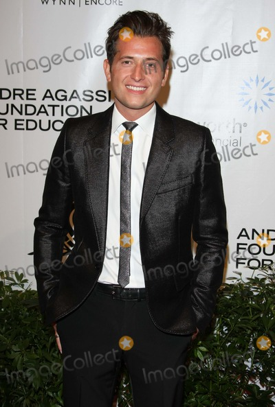 Andre Agassi Photo - Peter Cincotti Singer Andre Agassi Foundation For Educations 15th Grand Slam For Children Benefit Concert - Red Carpet the Wynn Las Vegas 10-09-2010 Photo by Graham Whitby Boot-alstar-Globe Phtos Inc 2010