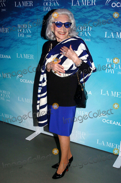 Anne Slater Photo - LA Mer and Oceana Celebrate World Ocean Day 2008 Rockefeller Center New York City 06-04-2008 Copyright 2008 John Krondes - Globe Photos Inc Ann Slater