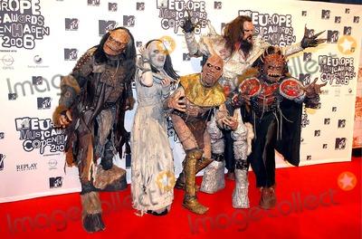 Lordi Photo - Ricardo RamirezrichfotocomGlobe Photos Inc 001786 11-02-2006 Lordi Mtv European Music Awards 2006-press Room-bella Centre Copenhagen Denmark