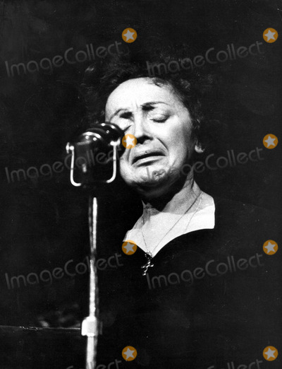 Edith Piaf Photo - Edith Piaf 12-12-1959 Photo by Agence DalmasGlobe Photos Inc