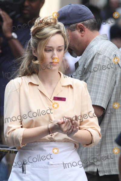 Ashley Johnson Photo - Ashley Johnson on the Move Set of the Avenges on Park Ave and 41st 9-3-2011 Photo by John BarrettGlobe Photos Inc