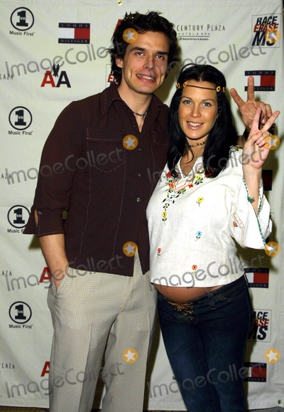 Antonio Sabato Jr Photo - ANTONIO SABATO JR AND PREGNANT GIRLFRIEND KRISTEN9TH ANNUAL RACE TO ERASE MS GALA (THEMED PEACE AND LOVE SEE THE CRAZY FASHION)CO-CHAIRED BY NANCY DAVIS AND TOMMY HILFIGERCENTURY PLAZA HOTEL  SPA CENTURY CITY CAMAY 10 2002PHOTO BY NINA PROMMERGLOBE PHOTOS INC2002 K24942NP