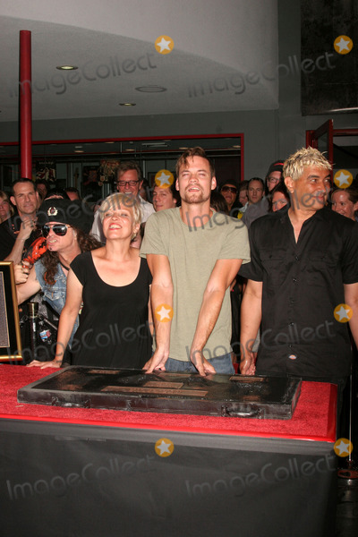 Don Bolles Photo - the Germs Inducted Into Hollywoods Rockwalk 7425 Sunset Blvd Hollywood CA 082008 Don Bolles Lorna Doom Shane West and Pat Smear of the Germs Photo Clinton H Wallace-photomundo-Globe Photos Inc