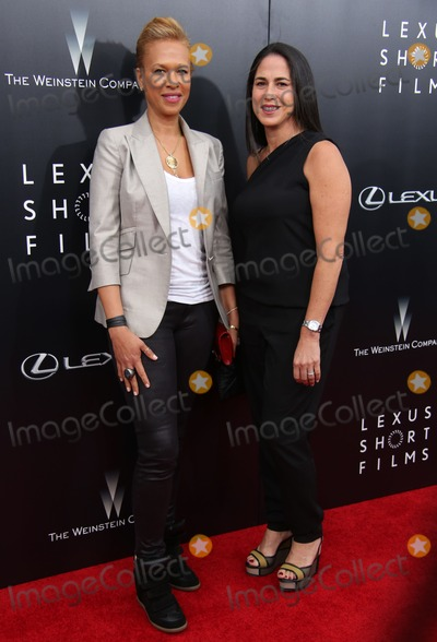Tonya Lewis Lee Photo - Lexus and the Weinstein Company Present the World Premiere of Lexus Short Films Sva Theater NYC August 6 2014 Photos by Sonia Moskowitz Globe Photos Inc 2014 Tonya Lewis Lee Nicole Silver