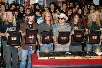 Iron Maiden Photo - Legendary Heavy Metal Band Iron Maiden Inducted Into Quitar Centers Hollywood Rockwall Hollywood CA (081905)photo by Milan RybaGlobe Photos Inc2005 Iron Maiden