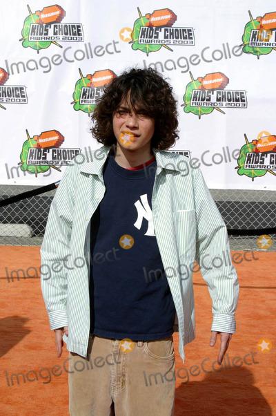 Adam Lamberg Photo - Nickelodeons 16th Annual Kids Choice Awards 2003- Arrivals Barker Hanger Santa Monica CA 04122003 Photo by Clinton H Wallace Ipol  Globe Photos Inc 2003 Adam Lamberg