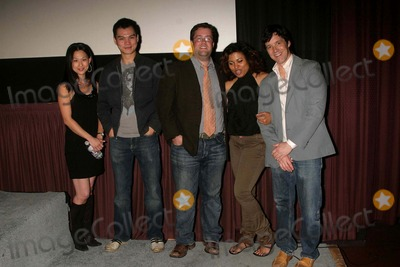 Abiodun Photo - I14223CHWThe New Twenty Los Angeles Premiere  Laemmles Sunset 5 Theatres West Hollywood CA 051509                       THE NEW TWENTY CAST MEMBERS- L-R- NICOLE BILDERBACK ANDREW WEI LIN COLIN FICKES AINA ABIODUN-PRODUCER AND CHRIS MASON JOHNSON-DIRECTOR Photo Clinton H Wallace-Photomundo-Globe Photos Inc 2009