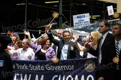 Mayor Bloomberg Photo - New York City Gay Pride  Heritage Parade 2011 photo by Bruce cotler-globe Photos Inc 06  26 20 11 Mayor Bloomberg - Christine Quinn - Gov Cuomo - Sandra Lee