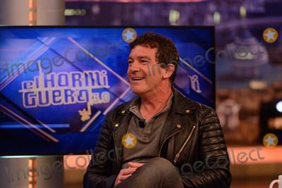 Antonio Banderas Photo - Madrid Spain March 30 2016 Antonio Banderas in spanich TV show El Hormiguero Foto Carlos Bouza  COrdon Press