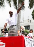 Alonzo Mourning Photo - MIAMI FL JUNE 24 Miami Heat 2013 Championship Celebration Parade down Biscayne Blvd to the American Airlines Arena on June 24 2013 in MiamiFlorida  (Photo by Luum PhotosImageCollectcom)