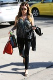 Andy LeCompte Photo - February 13th 2014 - Ashley Tisdale at Andy Lecompte Salon in West Hollywood Credit Vidaface to face