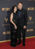 JJ Feild Photo - 17 September  2017 - Los Angeles California - Neve Campbell JJ Feild 69th Annual Primetime Emmy Awards - Arrivals held at Microsoft Theater in Los Angeles Photo Credit Birdie ThompsonAdMedia