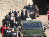 Prince of Wales Photo - Photo Must Be Credited Alpha Press 073074 17042021Princess Anne Princess Royal Prince Charles Prince of Wales Prince Andrew Duke of York Prince Edward Earl of Wessex Prince William Duke of Cambridge Peter Phillips Prince Harry Duke of Sussex Earl of Snowdon Viscount Lord David Linley David Armstrong-Jones and Vice-Admiral Sir Timothy Laurence follow Prince Philip Duke of Edinburghs coffin on a modified Jaguar Land Rover during the Ceremonial Procession during the funeral of Prince Philip Duke of Edinburgh at St Georges Chapel in Windsor Castle in Windsor Berkshire No UK Rights Until 28 Days from Picture Shot Date AdMedia