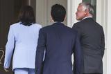Photo - Vice President Kamala Harris welcomes King Abdullah II of Jordan