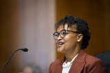 Photos From Shalanda H. Baker appears before a Senate Committee on Energy and Natural Resources hearing for her nomination to be Director of the Office of Minority Economic Impact, Department of Energy