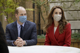 Photo - Kate and William Visit St Bartholomews Hospital for the Launch of the Hold Still Campaign