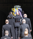 Princess Royal Photo - Photo Must Be Credited Alpha Press 073074 17042021Princess Anne Princess Royal Prince Charles Prince of Wales Prince Andrew Duke of York Prince Edward Earl of Wessex Prince William Duke of Cambridge Peter Phillips Prince Harry Duke of Sussex follow Prince Philip Duke of Edinburghs coffin is carried in during the funeral of Prince Philip Duke of Edinburgh at St Georges Chapel in Windsor Castle in Windsor Berkshire No UK Rights Until 28 Days from Picture Shot Date AdMedia