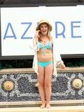 Photo - Jamie Anderson celebrates at Azure Las Vegas