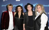 Antigone Rising Photo - 21 March 2015 - Beverly Hills California - Dena Tauriello Nini Camps Kristen Ellis-Henderson Cathy Henderson of Antigone Rising 26th Annual GLAAD Media Awards held at The Beverly Hilton Hotel Photo Credit F SadouAdMedia