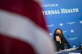 Photos From Vice President Kamala Harris Holds Roundtable on Black Maternal Health