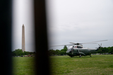 Marine One Photo - Marine One carrying US President Joe Biden and First Lady Jill Biden prepares to take off from the Ellipse of the White House in Washington DC US on Monday May 3 2021 Bidens 4 trillion vision of remaking the federal governments role in the US economy is now in the hands of Congress where both parties see a higher chance of at least some compromise than for the administrations pandemic-relief bill Credit Erin Scott  Pool via CNPAdMedia