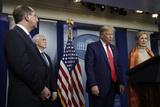 Photo - Donald Trump speaks on the Coronavirus - Washington