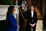 Photo - Amy Coney Barrett Capitol Hill Courtesy Call Deb Fischer