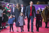 Photo - Royals at Special Pantomime Performance at Londons Palladium Theatre