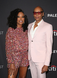 Photo - 17 March 2019 - Hollywood California - Aisha Tyler RuPaul Charles The Paley Center For Medias 2019 PaleyFest LA - RuPauls Drag Race held at The Wolf Theatre at The Dolby Theatre Photo Credit Faye SadouAdMedia