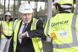 Photo - Boris Johnson Visits the New Vaccines Manufacturing and Innovation Centre