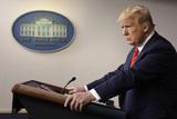 Photos From Donald Trump speaks on the Coronavirus - Washington