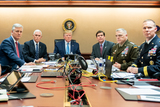 Photos From President Trump Watches as U.S. Special Operations Forces Close in on ISIS Leader