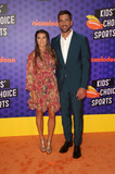 Aaron Rodgers Photo - 19 July 2018-  Santa Monica California - Danica Patrick Aaron Rodgers Nickelodeon Kids Choice Sports Awards 2018 held at Barker Hangar Photo Credit Faye SadouAdMedia