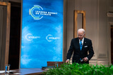 Photo - Biden Delivers Remarks and Participates in the Virtual Leaders Summit on Climate Session 5 The Economic Opportunities of Climate Action
