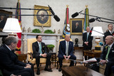 Photos From Donald Trump Meets Prime Minister Leo Varadkar of Ireland