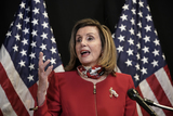 Photos From Nancy Pelosi Addresses the Nation