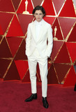 Timothee Chalame Photo - 04 March 2018 - Hollywood California - Timothee Chalame 90th Annual Academy Awards presented by the Academy of Motion Picture Arts and Sciences held at the Dolby Theatre Photo Credit AdMedia