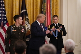 Photos From President Trump Presents Medal of Honor to Sergeant Major Thomas Payne